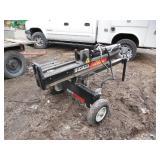 Huskee 28-ton Log splitter with Tilt Ram 7hp