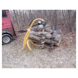 """3-point CountyLine post hole auger with 12"""" and 9"""" auger"""