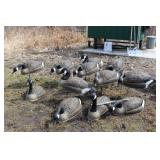 12 T stake geese