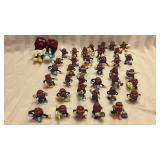 38 Plastic & 2 Stuffed Raisonattes