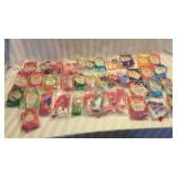 Lot of 38 Barbie McDonalds Toys