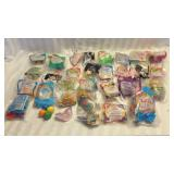 Lot of 30 Various McDonalds Toys, Disney Etc.