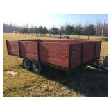 Tandem axle 7.5 ft. x14 ft. Trailer