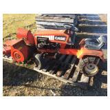 """110 Case tractor w/ 32"""" snow blower w/ 32"""" mower deck"""
