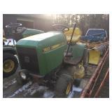"JD 160 tractor w/ 36 "" deck"