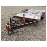 """Tandem axle trailer 16 ft.x6 ft.6"""""""