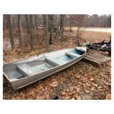 14 ft. Alluminum Boat-Trailer