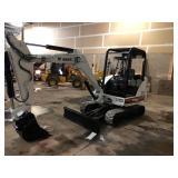 331 Mini Bobcat Excavator w/Extendahoe 3014 Hrs.Multiple Buckets w/quck attach