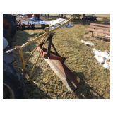 3 pt. boom- 6 ft 3 pt back blade