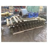 Pallet of picket fence
