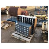 2 section nut and bolt bin