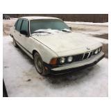 1987 635 BMW