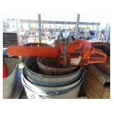 Wash tubs/ Chain saws