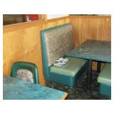 Half Booth Seating