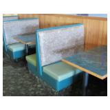 Double Booth Seating,