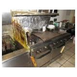 Grill / oven / burner combo,