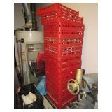 Stack of Dishwasher racks,