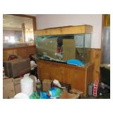 Fish Tank and Stand, Leaks, No Contents