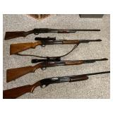 Several guns