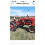 Farmall bn with cultivators