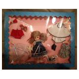 """** BOXED MADAME ALEXANDER DOLL 10/"""" TRAPEZE #1133"""
