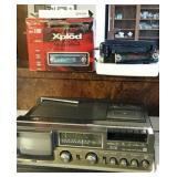 JVC Color TV-Radio-Cassette Recorder