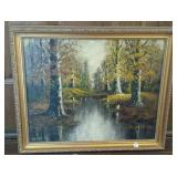 Walter Eyden Oil Painting, framed, signed