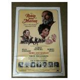 "Robin & Marian Movie Poster, 27"" X 41"""