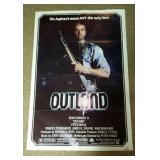 "Outland Movie Poster, copyright 1981, 27"" X 41"""