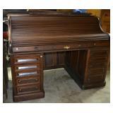 Executive Vintage roll top desk