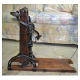 Antique Barn Beam Auger Drill