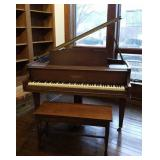Chickering Baby Grand Piano,  #162036