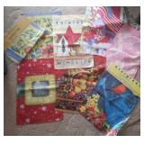 Garden and lawn flags, seasonal, 2 are new