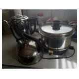 Familie slo- cooker, Dormeyer percolator,