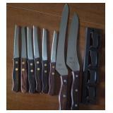 Marathon knife set and holder - new in box