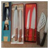 Knives, cutlery sets, Ever Sharp, kitchen Delight