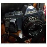 Canon T50,  with two lens, case