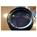 Canon FD camera lens 70-210 mm