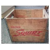 """Squirt wood crate, 12"""" X 16"""" X 12"""""""