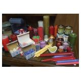 Candles,  tapers,  votives, Partylite