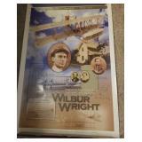 Wilbur Wright memorial posters, 7 total