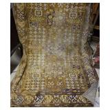 Floor mat or tapestry. needs cleaning, faded areas