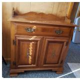 """Tell City  dry sink, 32"""" wide, 12"""" deep, 33"""" tall"""