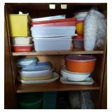 Tupperware bowls storage containers