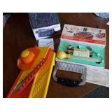 Pampered Chef garnish, Meat Thermometer & baster