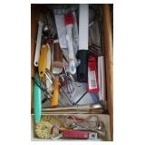 Kitchen hand utensils, scrapers, peelers, graters