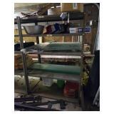"Metal shelving unit  24"" X  60"" X  42"""