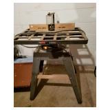 Craftsman Wood Shaper on stand
