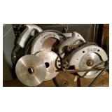 Black & Decker Skill Saws (2), wire repaired
