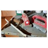 Concrete finishing tools (3), edger & st